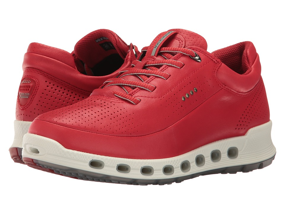 ECCO Sport - Cool 2.0 Gore-Tex Sneaker (Tomato) Women's Lace up casual Shoes