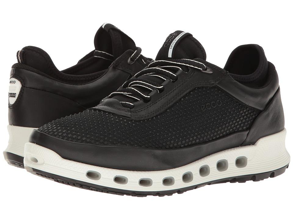 ECCO Sport - Cool 2.0 Gore-Tex Textile (Black/Black) Women's Lace up casual Shoes