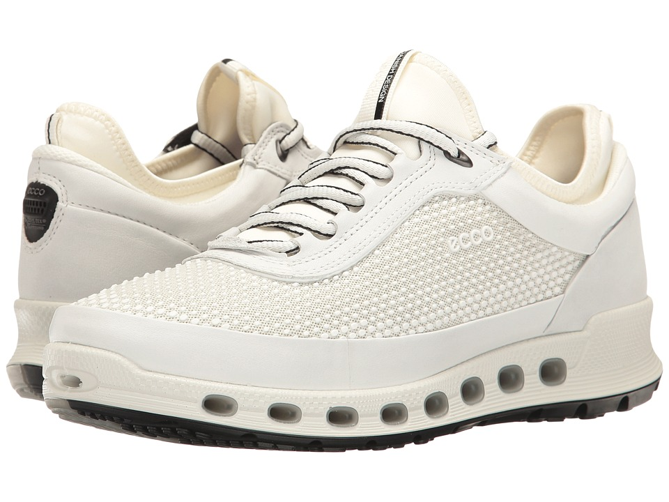 ECCO Sport - Cool 2.0 Gore-Tex Textile (White/White) Women's Lace up casual Shoes