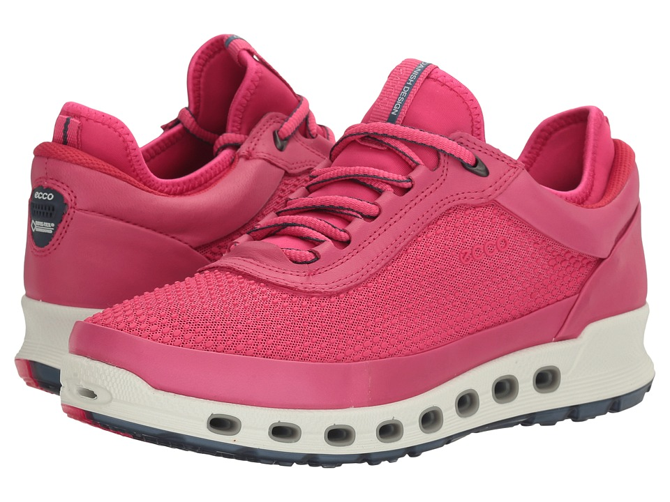 ECCO Sport - Cool 2.0 Gore-Tex Textile (Beetroot/Beetroot) Women's Lace up casual Shoes