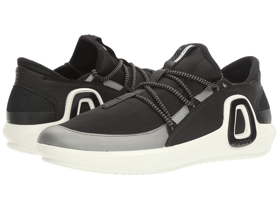 ECCO Sport - Intrinsic 3 Textile (Black/Black) Women's Shoes