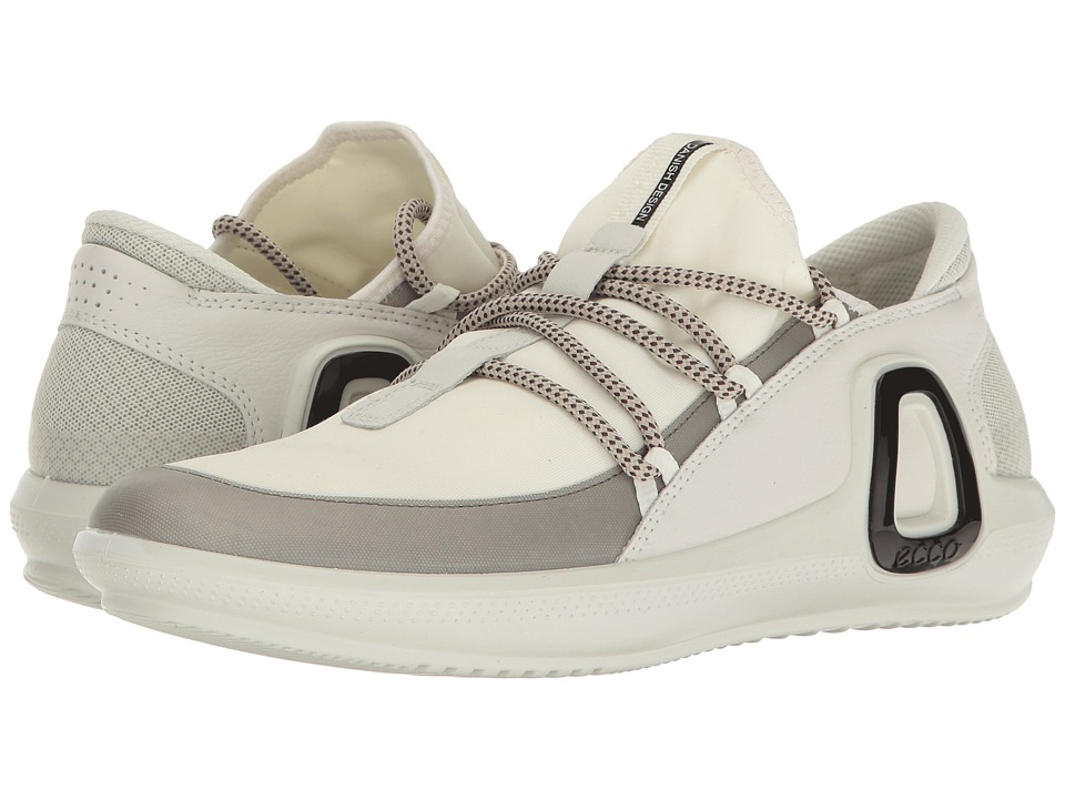 ECCO Sport - Intrinsic 3 Textile (White/White) Women's Shoes