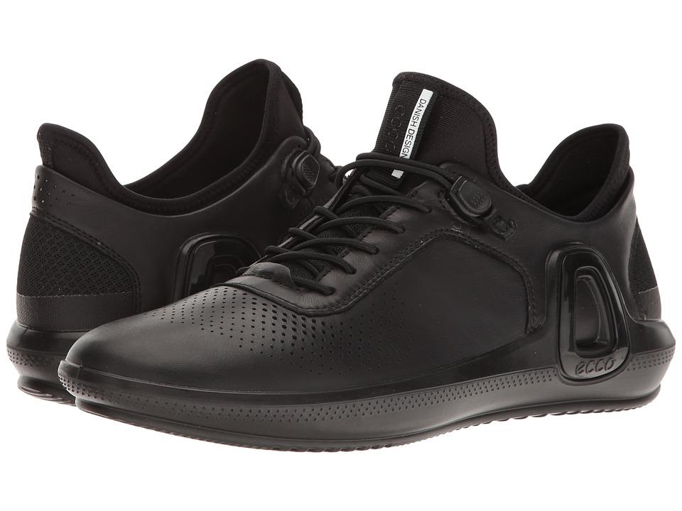 ECCO Sport - Intrinsic 3 Sneaker (Black) Women's Shoes