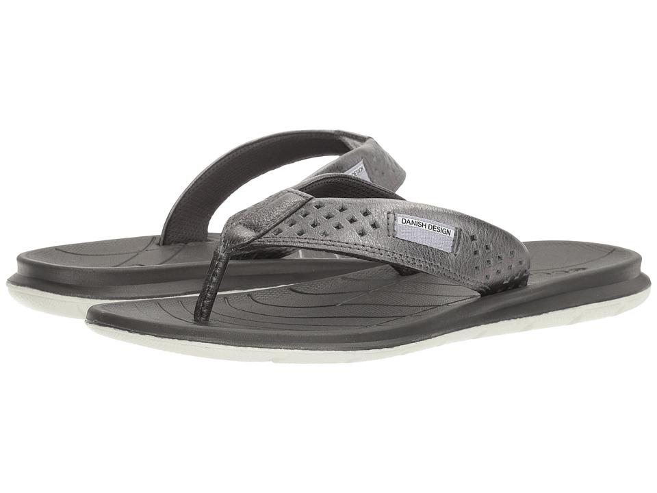 ECCO Sport - Intrinsic Thong Sandal (Dark Shadow) Women's Sandals