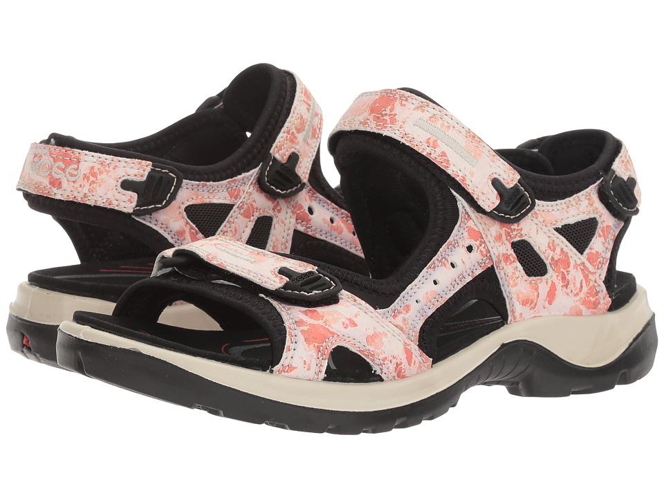 ECCO Sport - Yucatan Sandal (Coral Blush) Women's Sandals