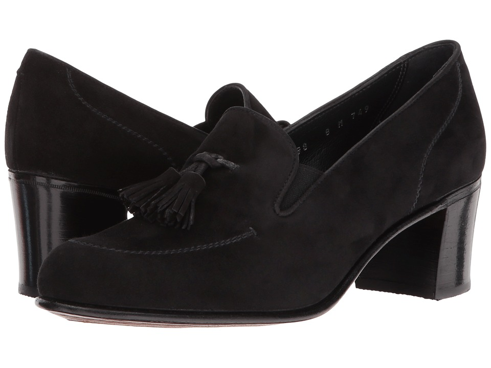 Gravati - Tasselled High Heel (Black Suede) High Heels