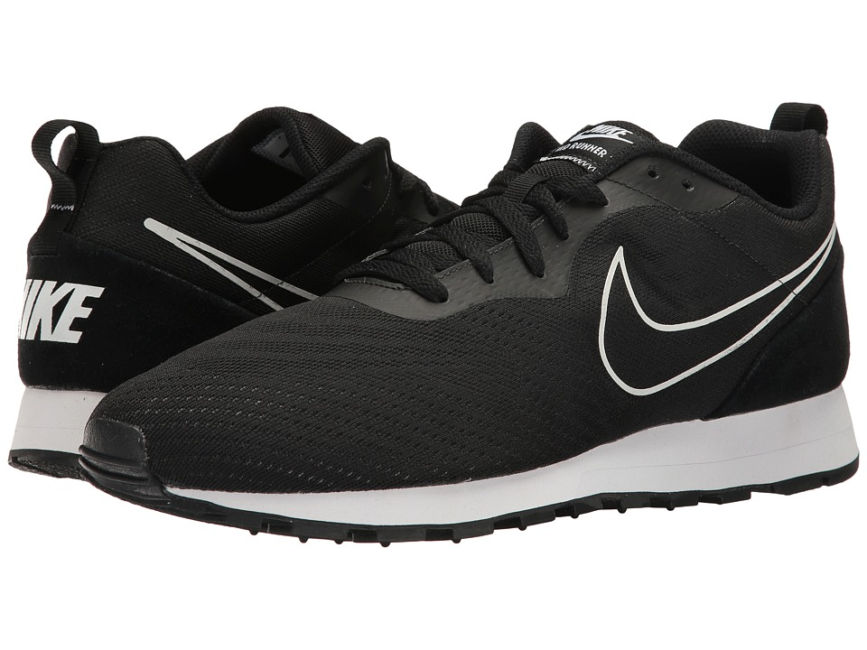 Nike - MD Runner 2 BR (Black/Black) Men's Shoes