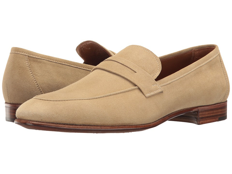 Gravati - Suede Loafer (Camel) Men's Shoes