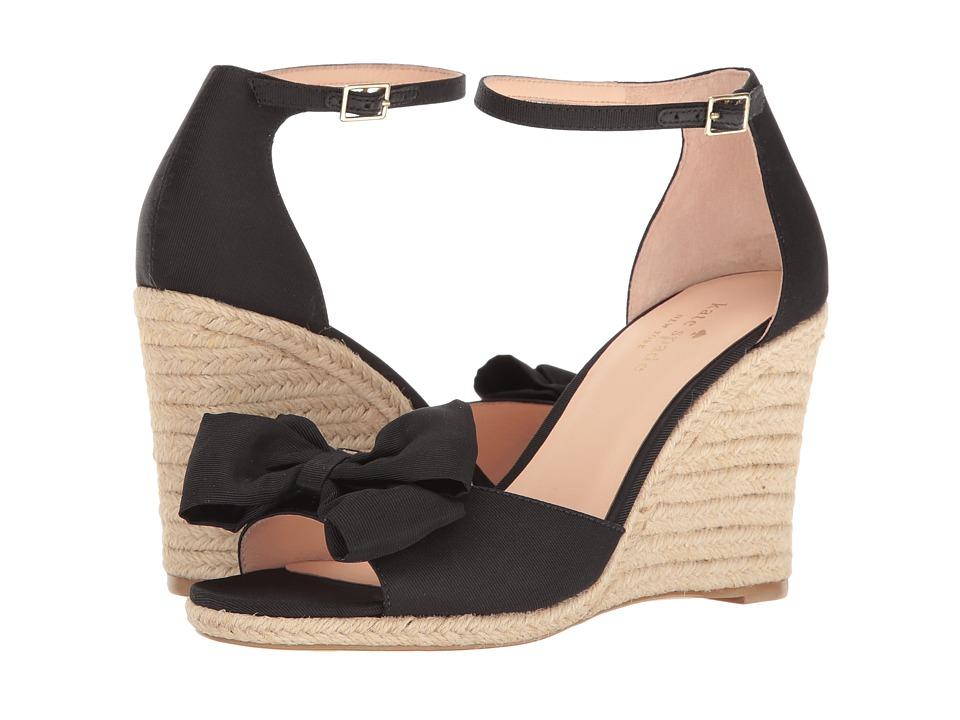 Kate Spade New York - Broome (Black Grosgrain) Women's Shoes