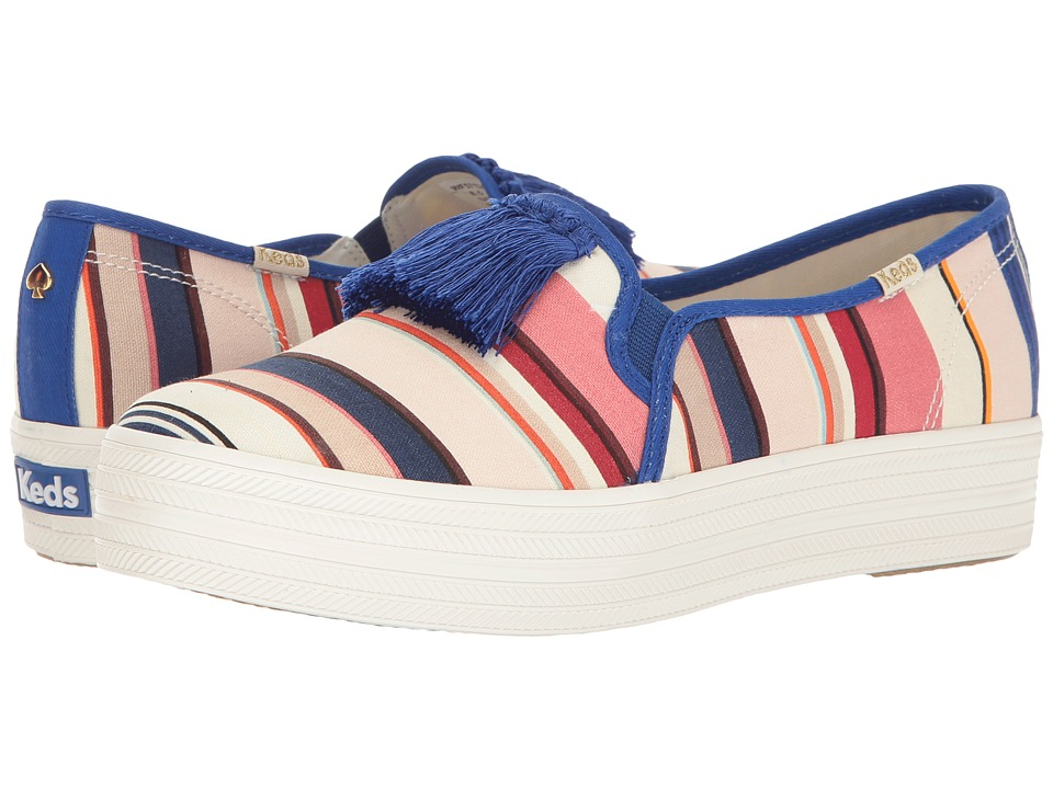 Kate Spade New York - Decker Too (Multicolor Berber Stripe Canvas) Women's Shoes