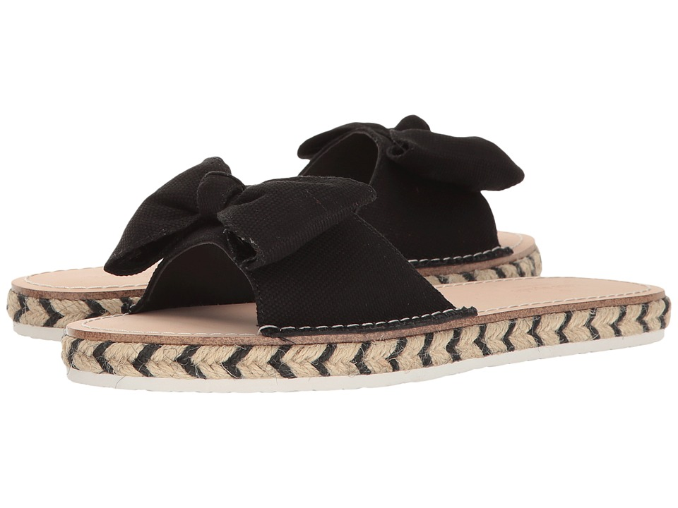 Kate Spade New York - Idalah (Black Canvas) Women's Shoes