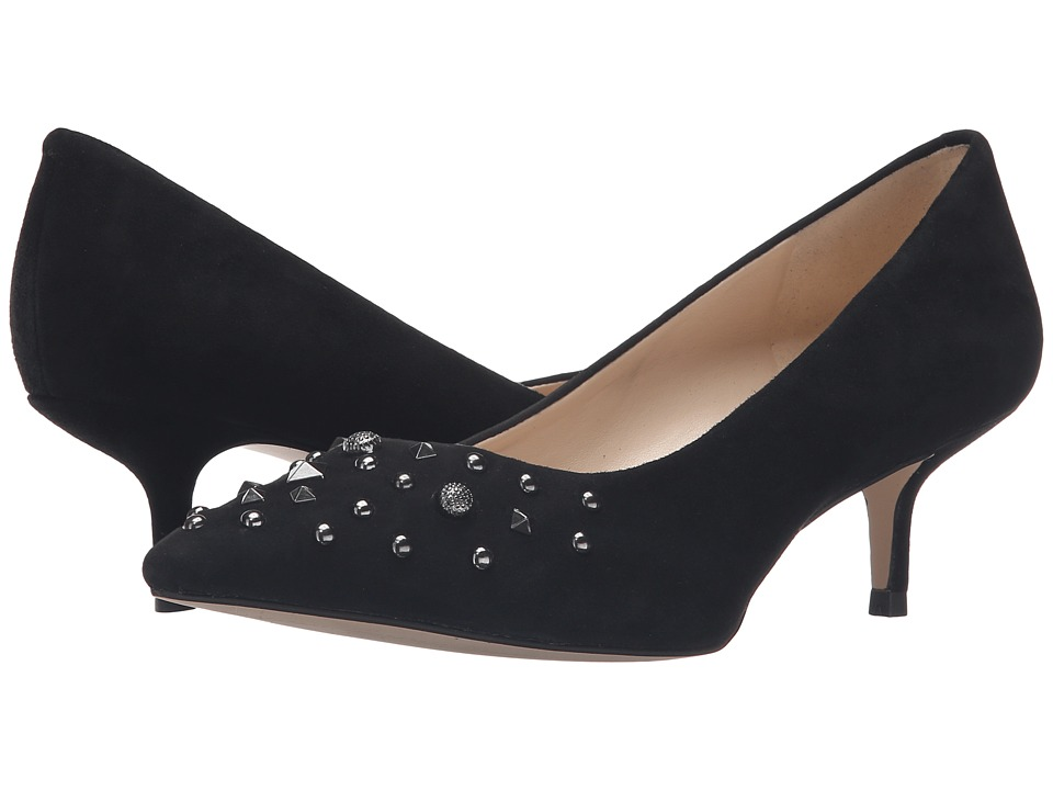 Nine West - Fault (Black Suede) Women's Shoes