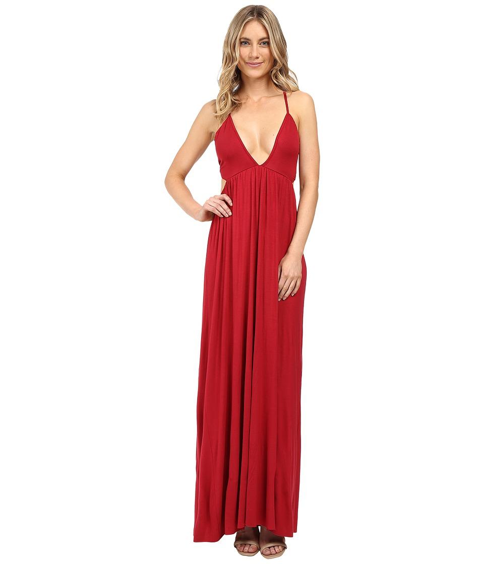 Clayton - Simian Dress (Crimson) Women's Dress