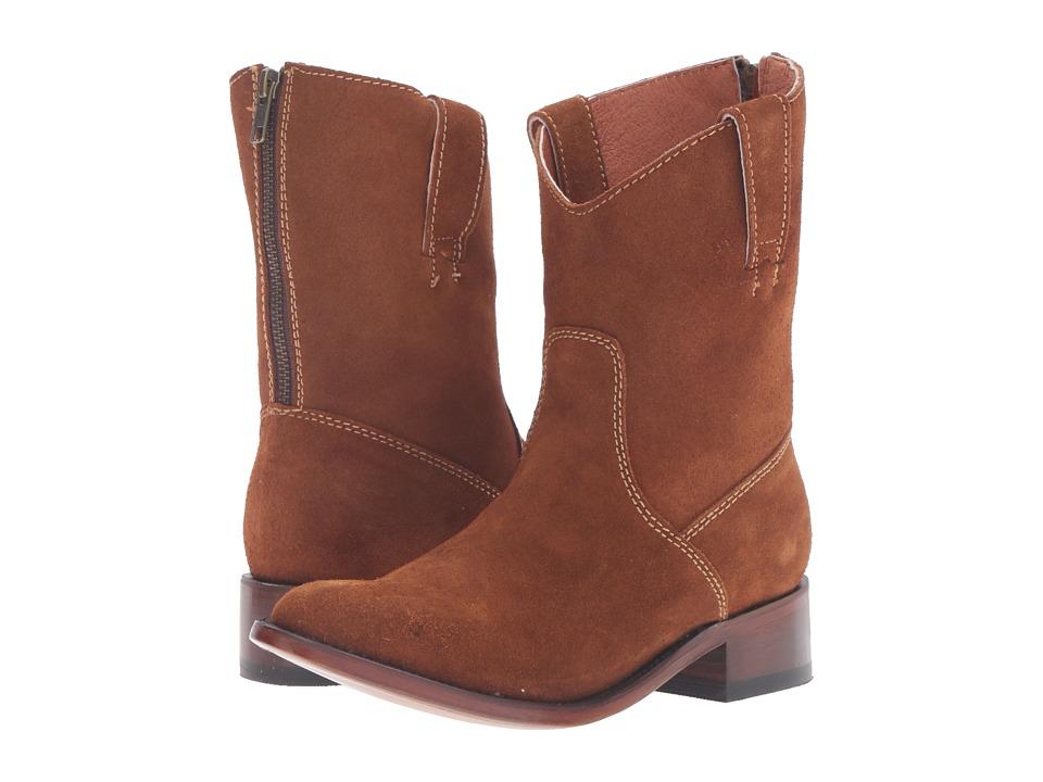 Dan Post - Georgie (Amber Zip Round) Cowboy Boots