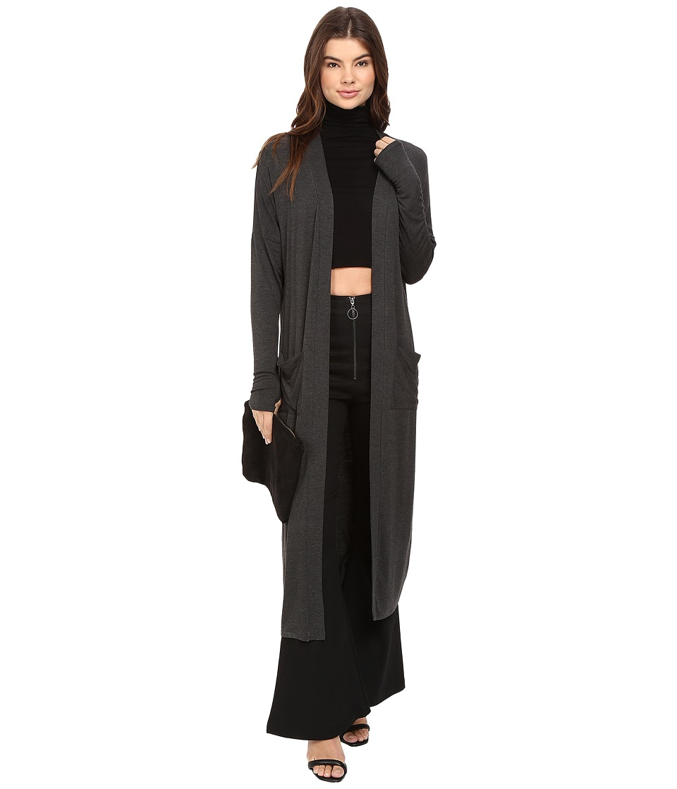 Clayton - Peyton Duster (Charcoal) Women's Coat