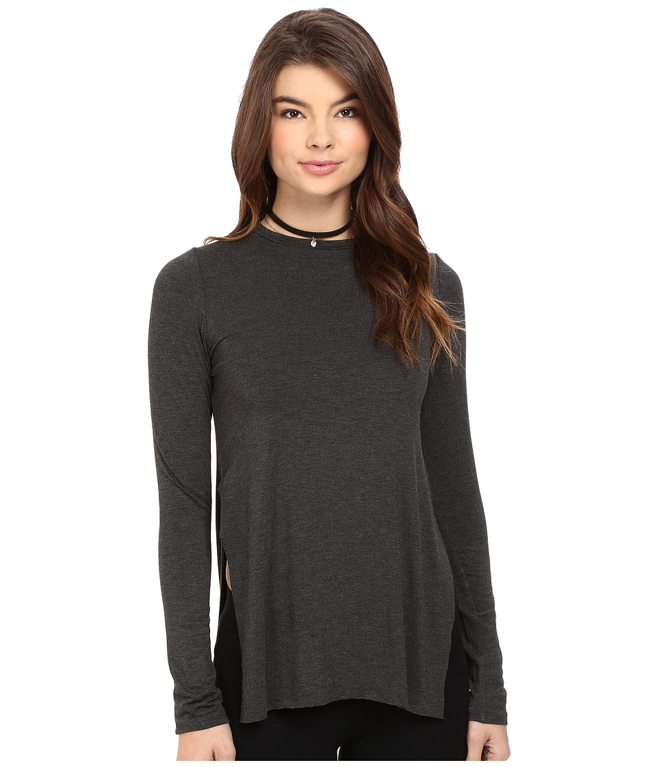 Clayton - Tim Top (Charcoal) Women's Clothing