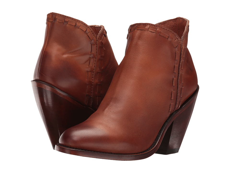 Dan Post Marlena (Cognac Fashion Round Toe) Cowboy Boots