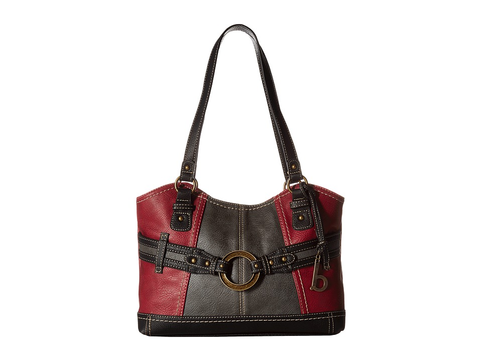 b.o.c. - Brimfield Scoop Tote (Burgundy/Charcoal/Black) Tote Handbags