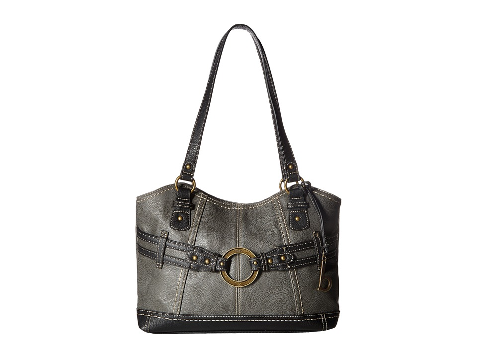 b.o.c. - Brimfield Scoop Tote (Charcoal/Black) Tote Handbags