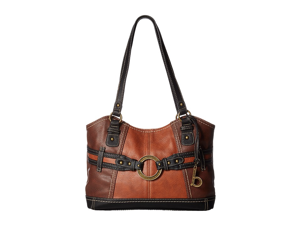 b.o.c. - Brimfield Scoop Tote (Chocolate/Saddle/Black) Tote Handbags