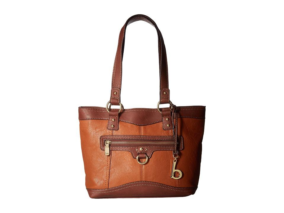 b.o.c. - Tallmadge Tote (Saddle/Walnut) Tote Handbags