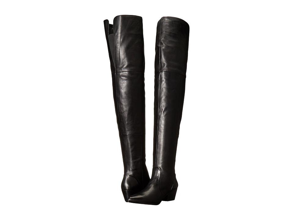 ALDO - Deedee (Black Leather) Women's Boots