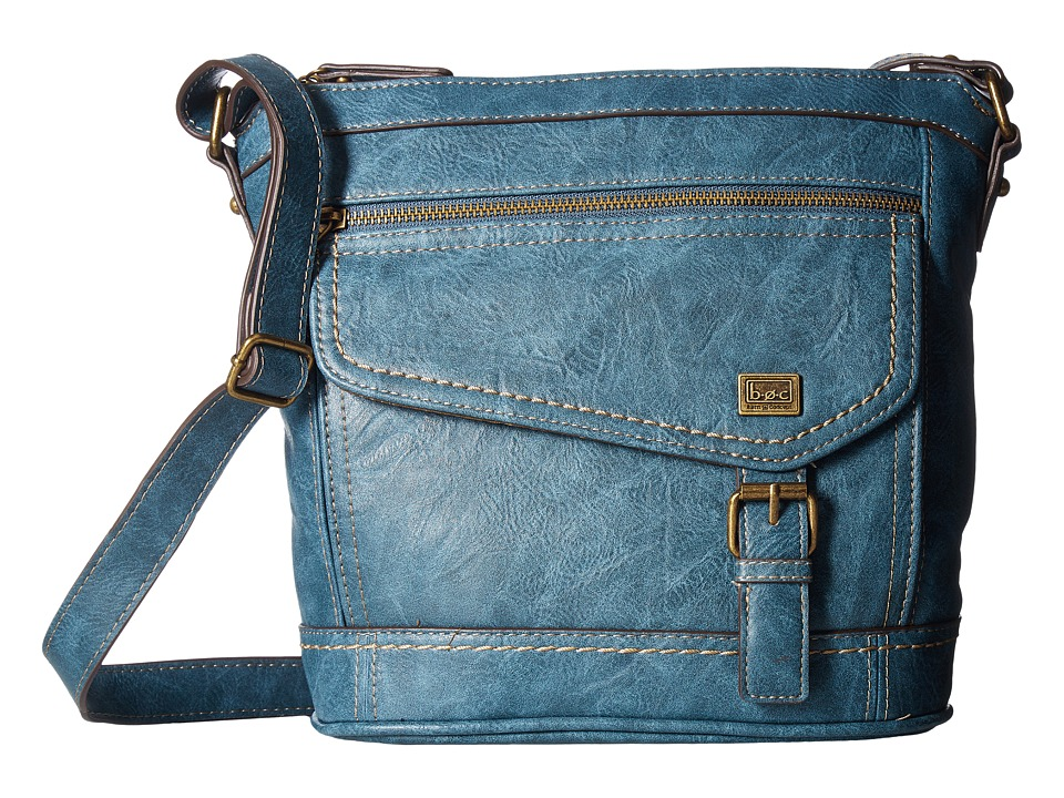 b.o.c. - Amherst Crossbody (Dark Blue) Cross Body Handbags