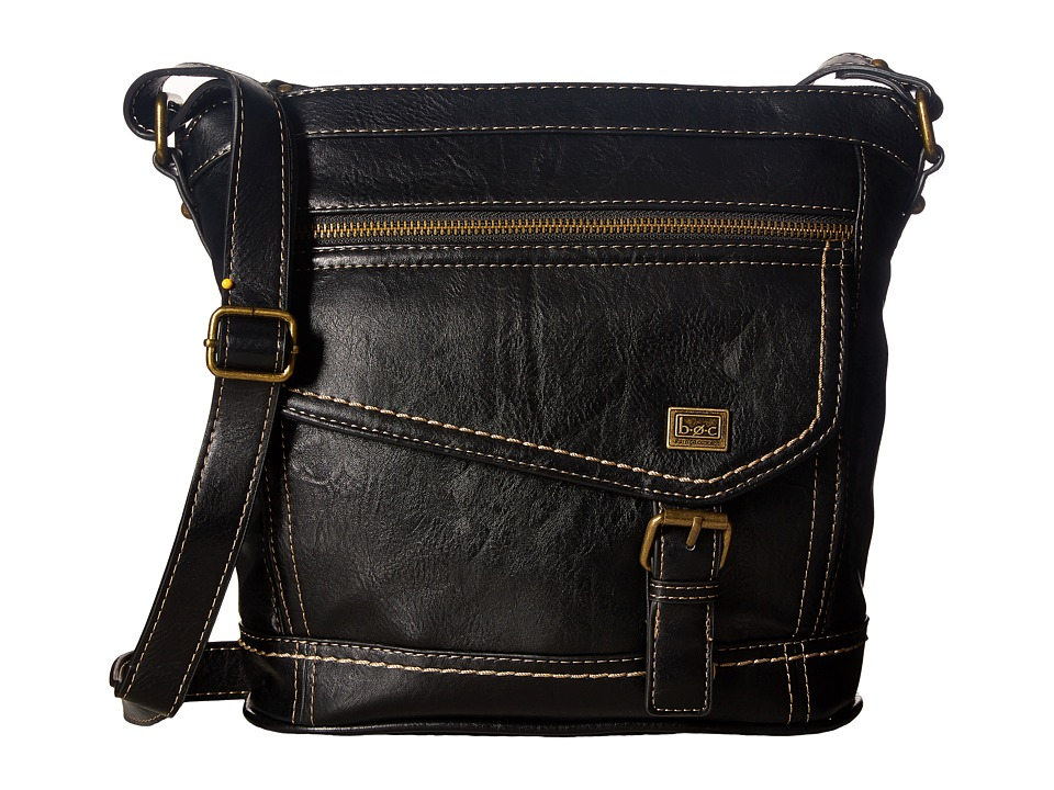 b.o.c. - Amherst Crossbody (Black) Cross Body Handbags