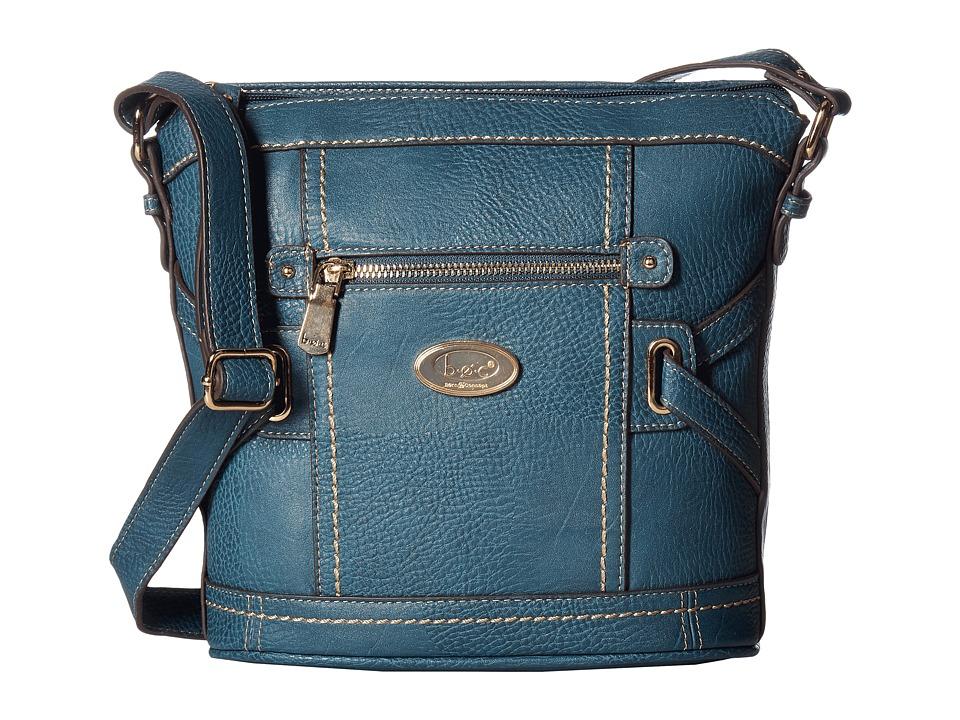 b.o.c. - Parkslope Crossbody (Dark Blue) Cross Body Handbags