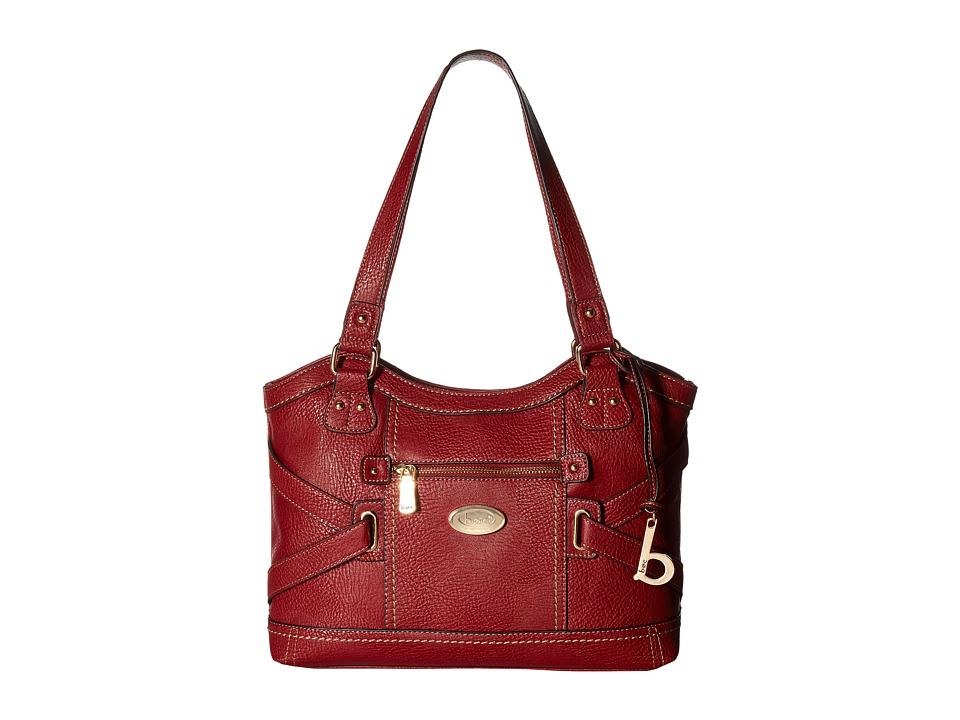 b.o.c. - Parkslope Tote (Burgundy) Tote Handbags