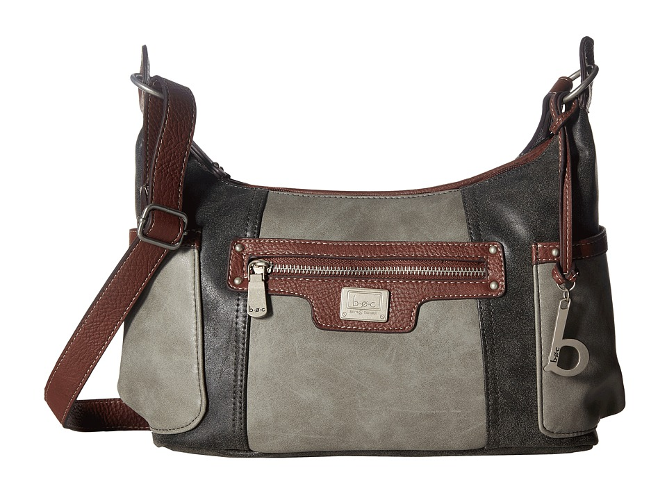 b.o.c. - Barberton Hobo (Dove/Charcoal/Walnut) Hobo Handbags