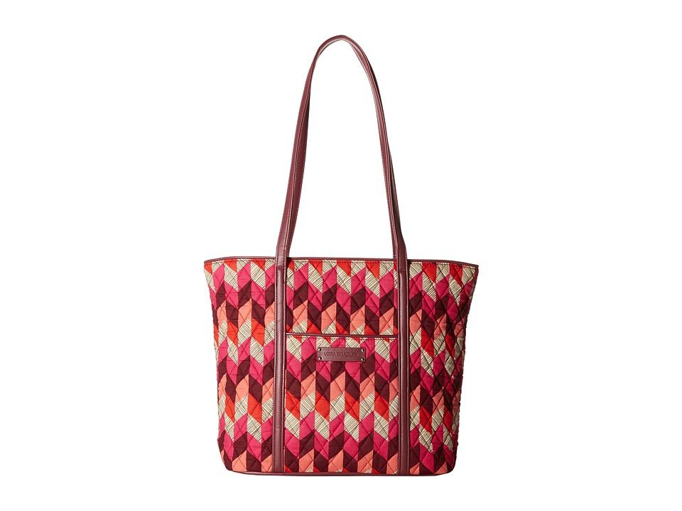 Vera Bradley - Small Trimmed Vera (Bohemian Chevron) Tote Handbags