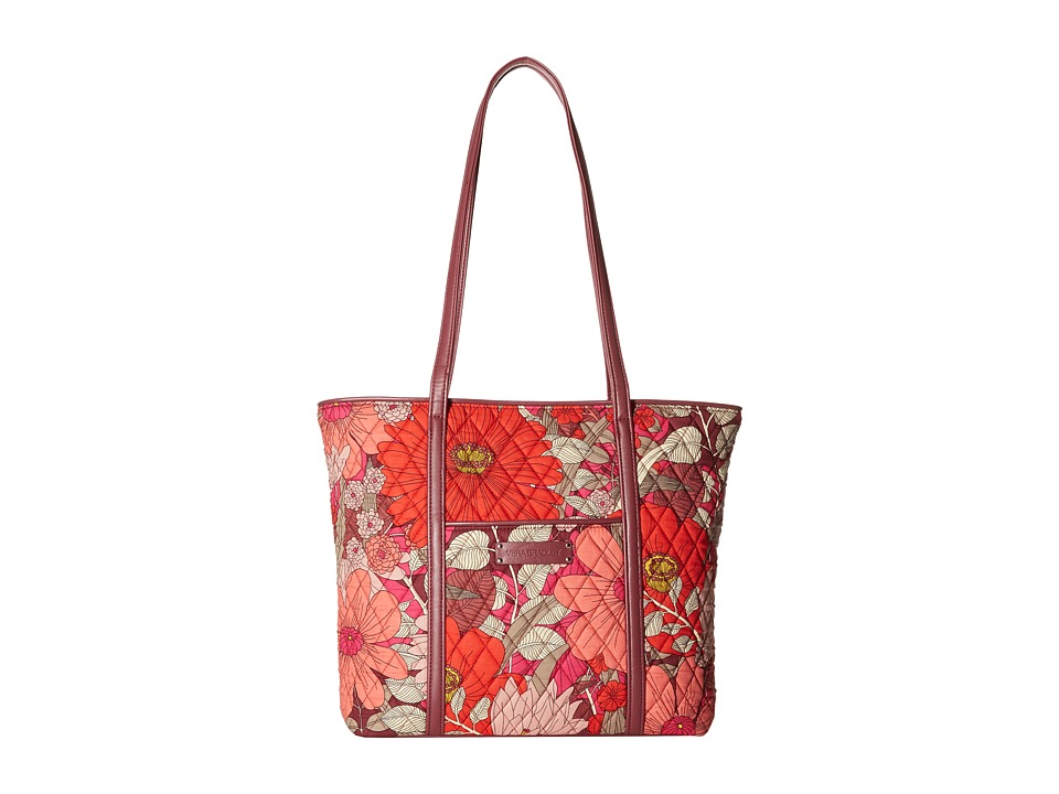 Vera Bradley - Small Trimmed Vera (Bohemian Blooms) Tote Handbags
