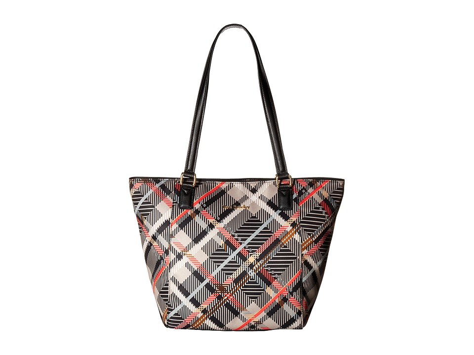 Vera Bradley - Small Ella Tote (Sofia Plaid) Tote Handbags