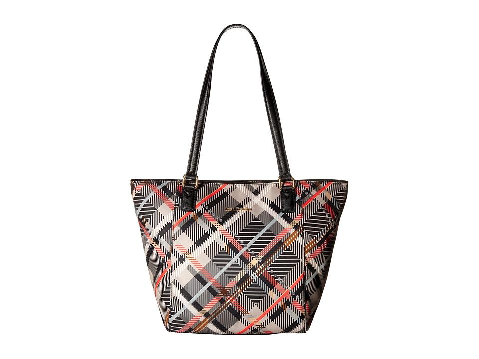 Vera Bradley - Small Ella Tote (Sofia Plaid) Tote Handbags