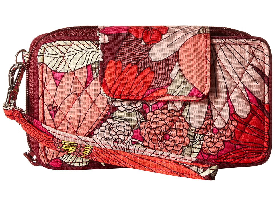 Vera Bradley - Smartphone Wristlet for iPhone 6 (Bohemian Blooms) Clutch Handbags