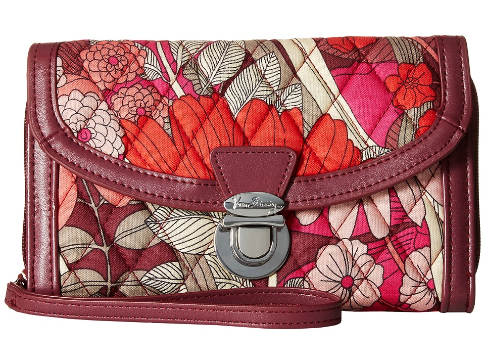 Vera Bradley - Ultimate Wristlet (Bohemian Blooms) Clutch Handbags