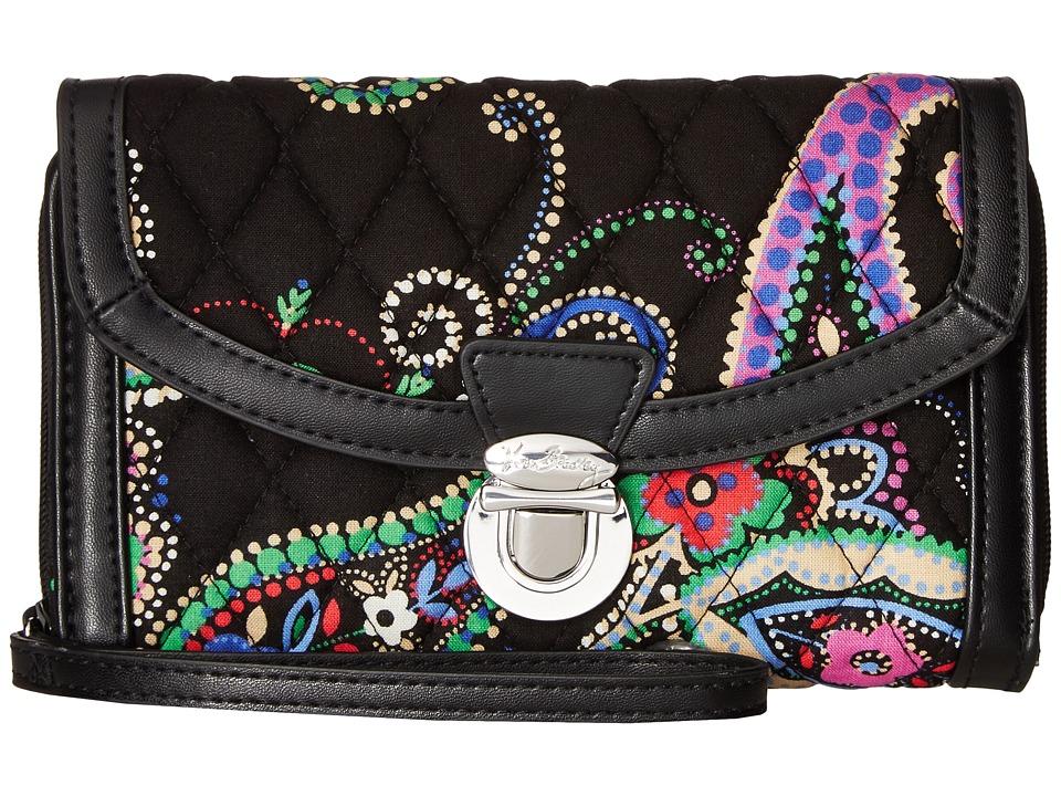 Vera Bradley - Ultimate Wristlet (Kiev Paisley) Clutch Handbags