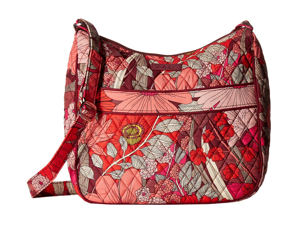 Vera Bradley - Carryall Crossbody (Bohemian Blooms) Cross Body Handbags
