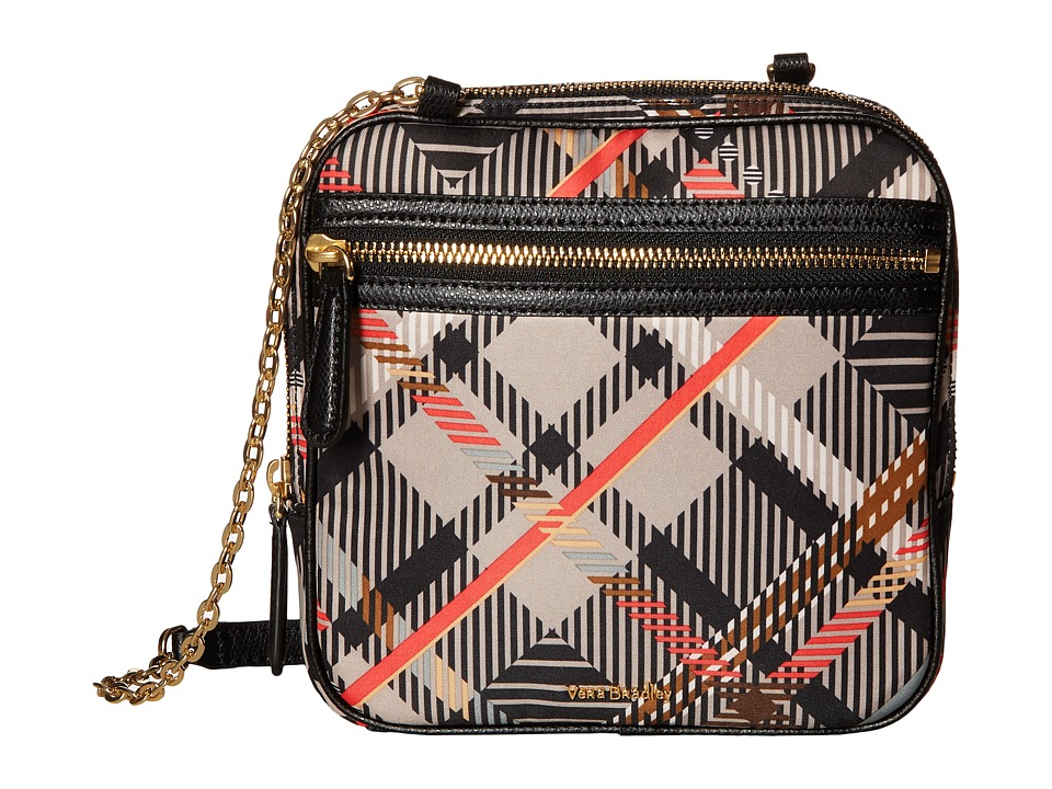 Vera Bradley - Elena Crossbody (Sofia Plaid) Cross Body Handbags