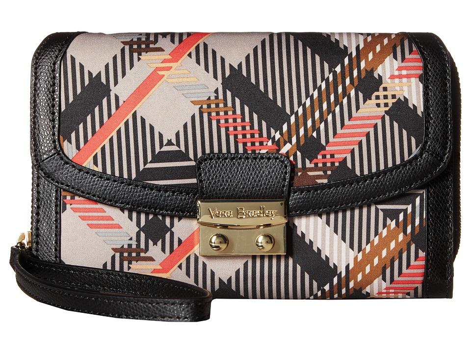 Vera Bradley - Ultimate Wristlet (Sofia Plaid) Clutch Handbags