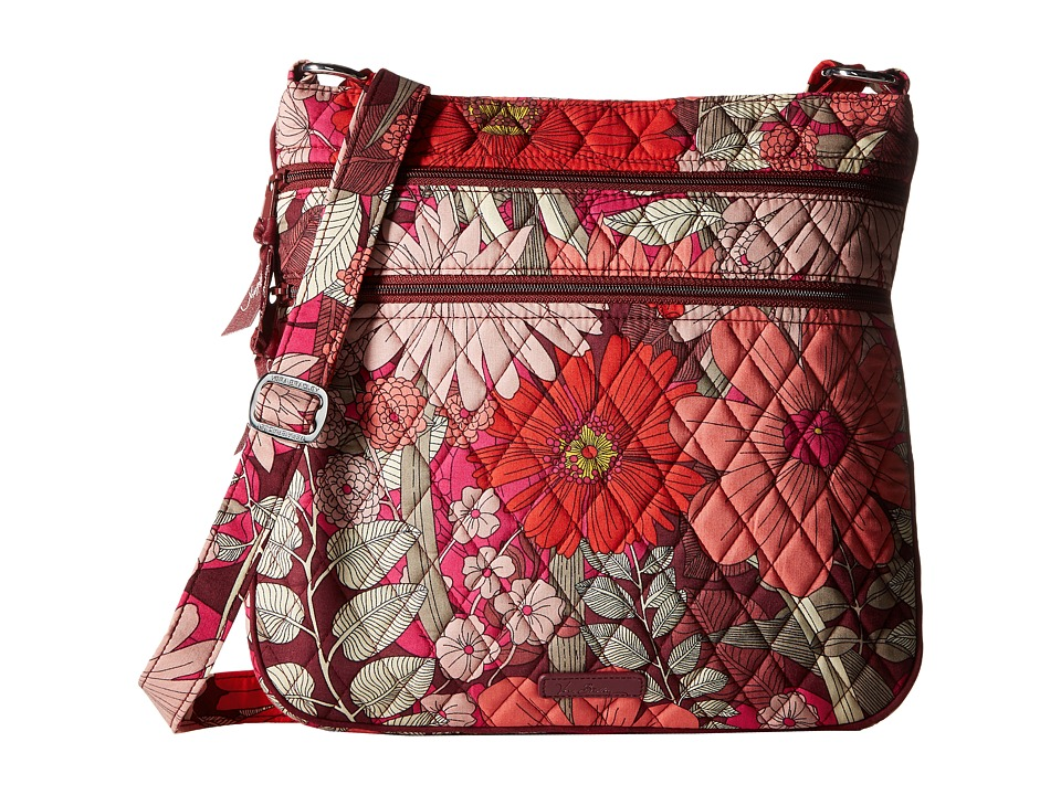Vera Bradley - Keep Charged Triple Zip Hipster (Bohemian Blooms) Handbags
