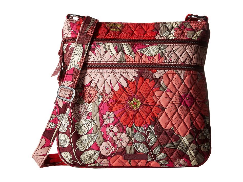 Vera Bradley - Keep Charged Triple Zip Hipster (Bohemian Blooms) Handbags