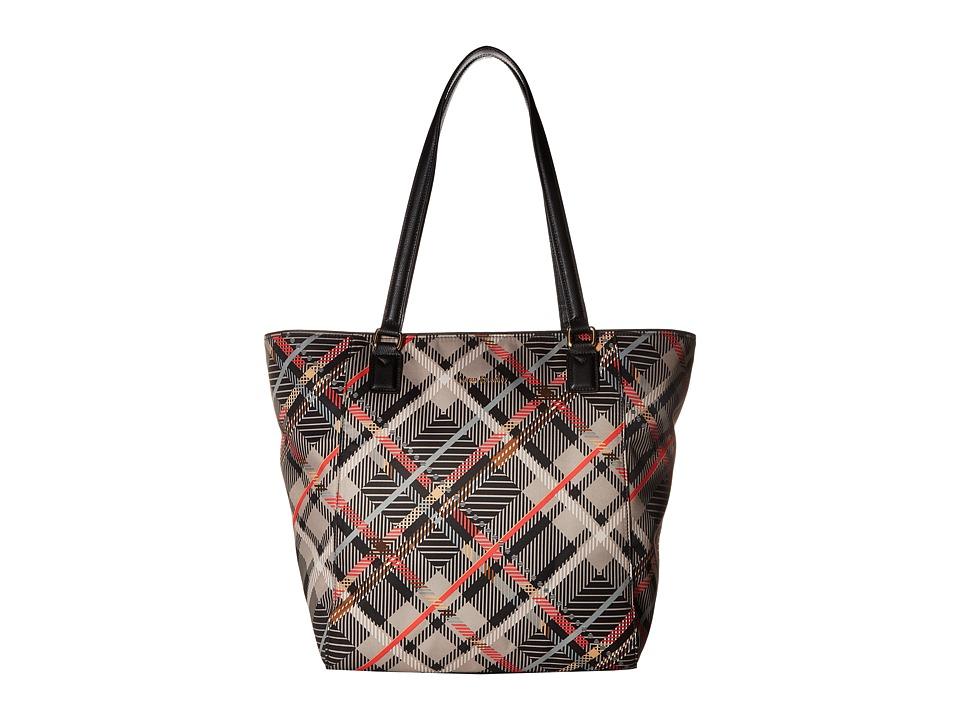 Vera Bradley - Ella Tote (Sofia Plaid) Tote Handbags