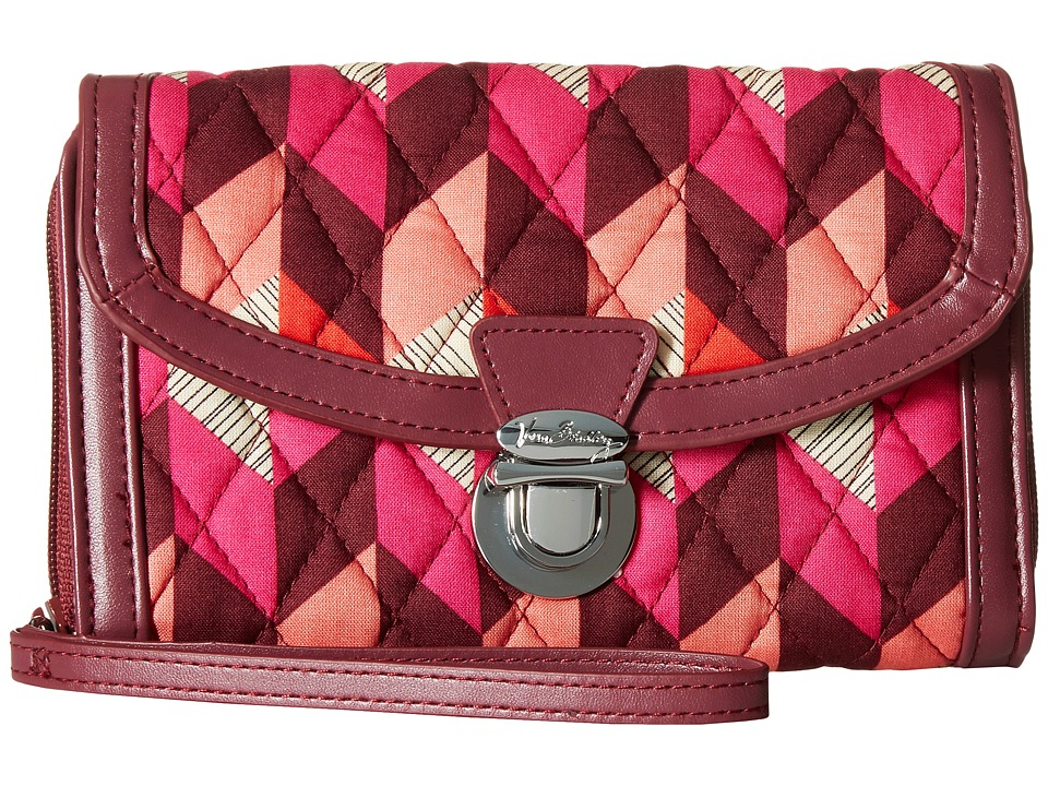 Vera Bradley - Ultimate Wristlet (Bohemian Chevron) Clutch Handbags