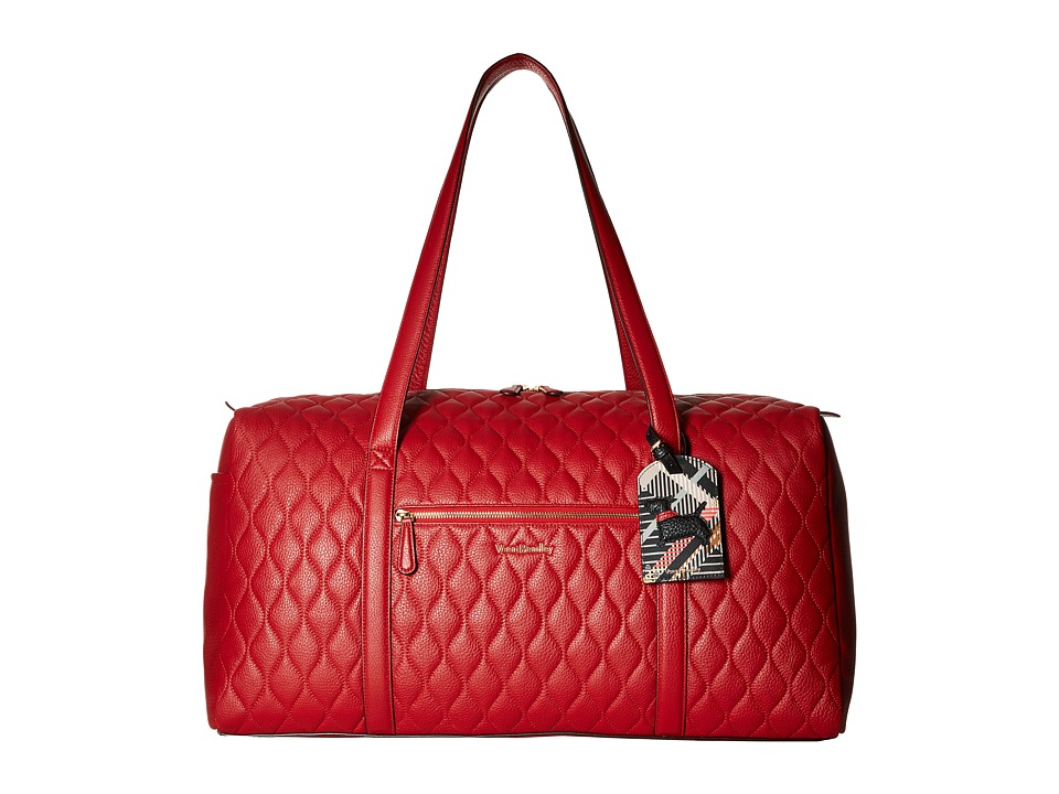 Vera Bradley - Quilted Large Duffel (Tango Red) Duffel Bags