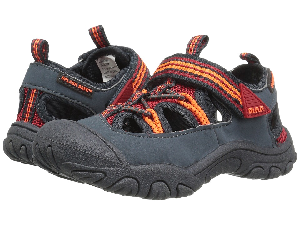 M.A.P. - Emmons (Toddler) (Charcoal/Red) Boy's Shoes