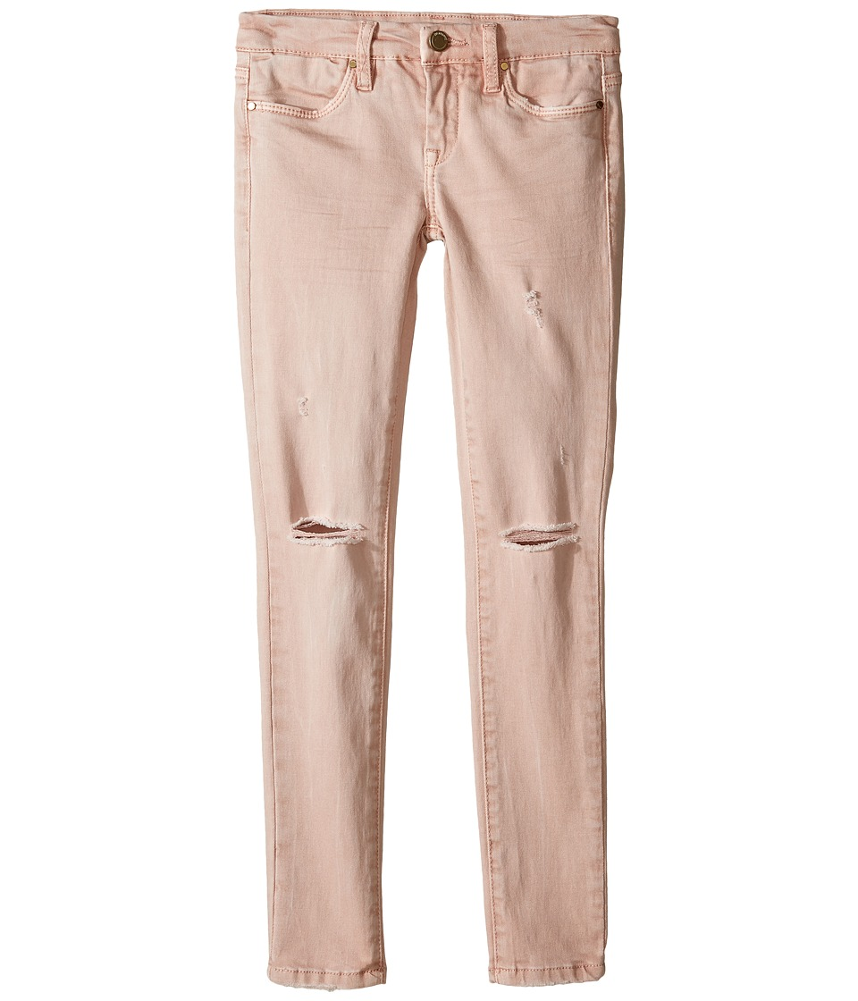Blank NYC Kids - Blush Pink Ripped Denim Skinny in Don't Blink Pink (Big Kids) (Pink) Girl's Jeans
