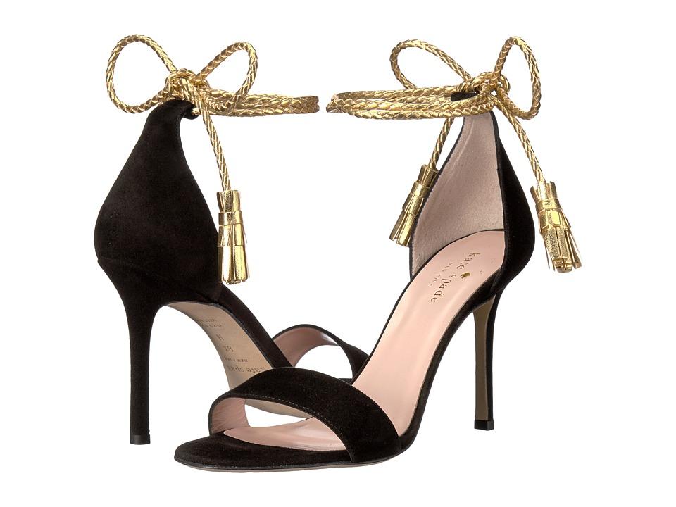 Kate Spade New York - Inez (Black Kid Suede) Women's Shoes