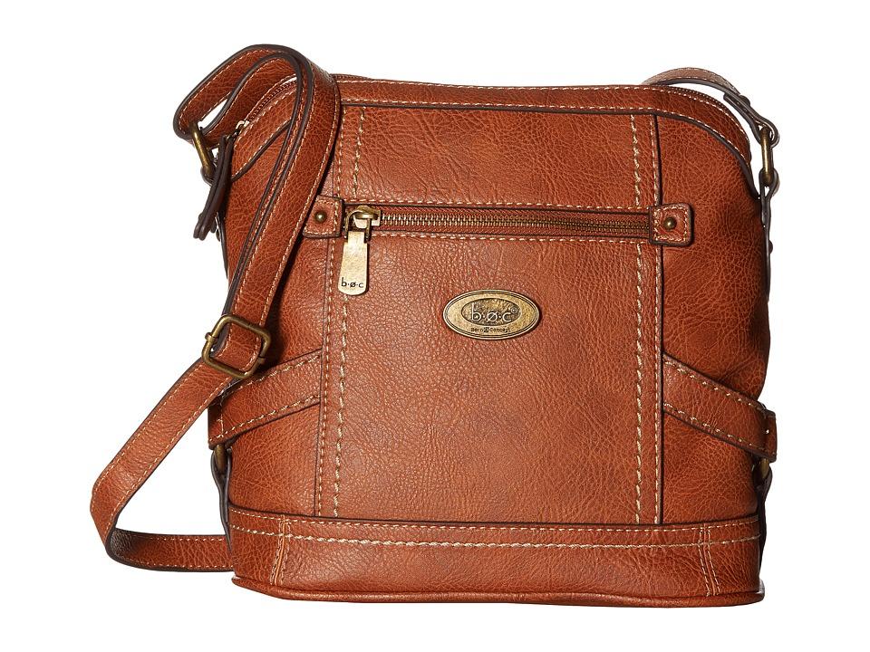 b.o.c. - Middleton Crossbody (Saddle) Cross Body Handbags
